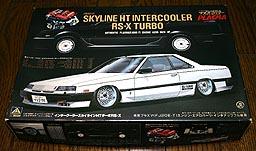 AOSHIMA NISSAN SKYLINE RS-X. 001-01.JPG