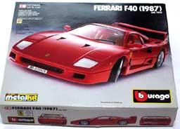 BBURAGO FERRARI F40 001-01